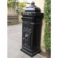 aluminium-post-box-black