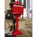 aluminium-post-box-red-a1
