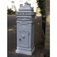 aluminium-post-box-white