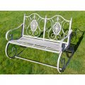 antique-grey-rocking-bench