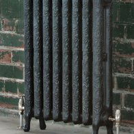 art-nouveau-style-cast-iron-radiator-gun-metal.3