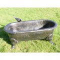 bronze-finish-bath-planter
