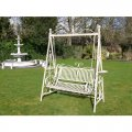cream-two-seat-swing-bench