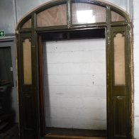 door-frame-with-glass-panel