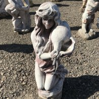 lady-with-shell-water-feature