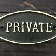 private-sign-oval