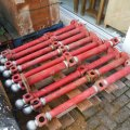 red-cast-iron-bollards