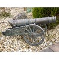 small-old-copper-cannon