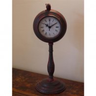 table-clock-green